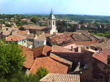 Charming Proven�al village, at the foot of the Dentelles de Montmirail, green holiday resort and classified as